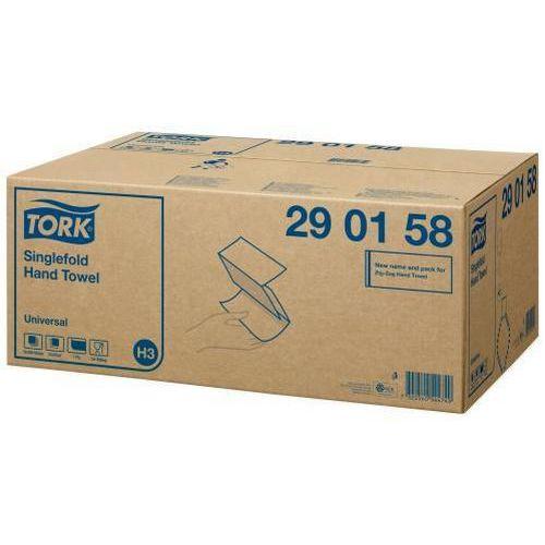 Papírové ručníky skládané Tork UNIVERSAL bílá TAD H3, 4500ks