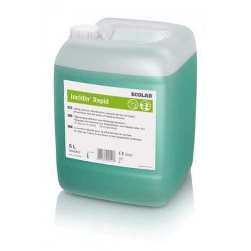 Dezinfekční přípravek Incidin Rapid 6l pro plochy a povrchy