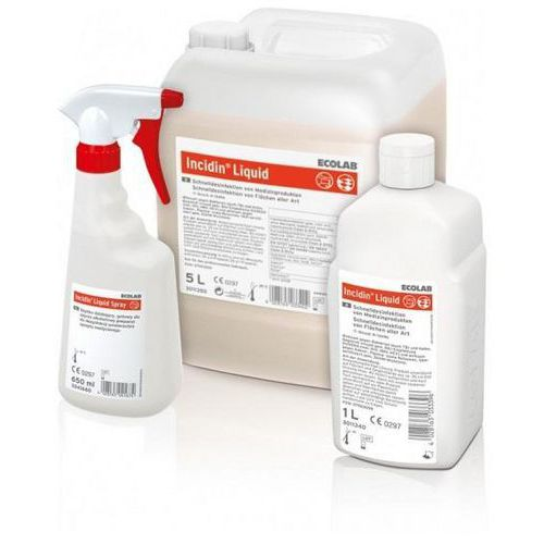Dezinfekční přípravek na plochy a předměty Incidin Liquid 1l