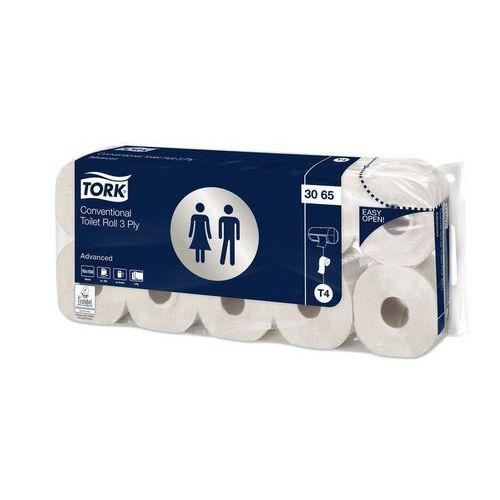 Toaletní papír Tork Advanced 3vrstvy 150 útržků T4, 10ks