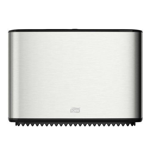 Zásobník na Mini Jumbo toaletní papír T-Box Tork nerez T2