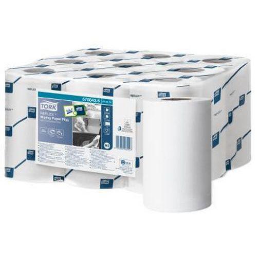 Papírové ručníky v miniroli Tork Reflex Plus M3 2vrstvy, 9ks