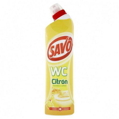 SAVO WC čistič citrón gel 750ml