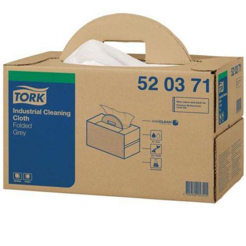 Netkaná textílie Tork Premium 520 šedá Handy Box, 280ks