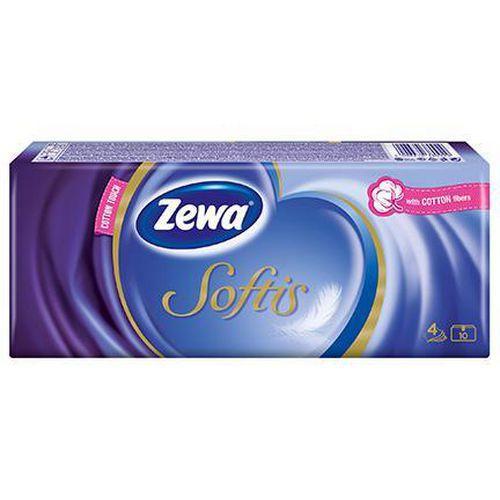 Papírové kapesníčky ZEWA Softis Standard, 4vrstvy, 10ks