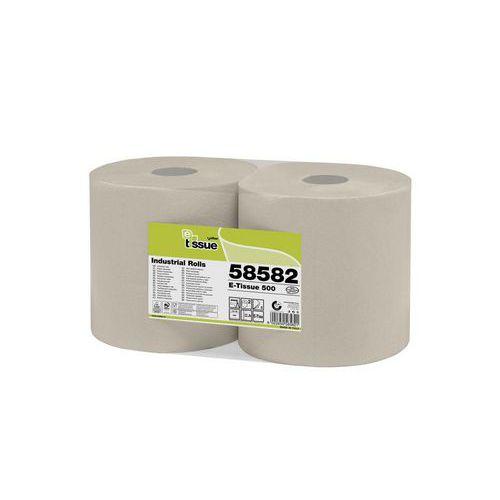 Průmyslová papírová utěrka 500 Celtex BIO E-Tissue, 3vrstvy, šířka 26,5cm, 2ks