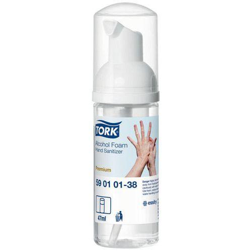 Pěnový dezinfekční prostředek Tork Premium Alcohol 47ml s pumpičkou