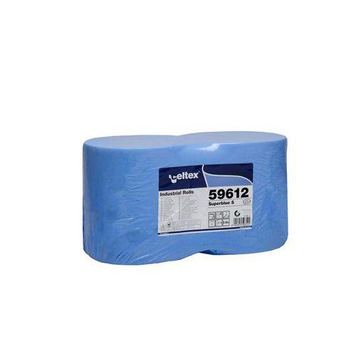Průmyslová papírová utěrka Celtex SuperBlue S, šířka 22cm 3vrstv