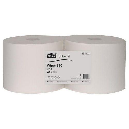 Průmyslová papírová utěrka Tork Basic malá role, 2ks