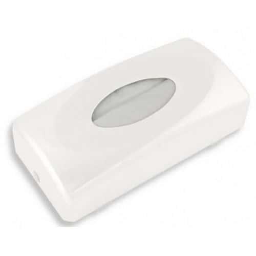 Univerzální zásobník na papírové kapesníčky, bílý plast