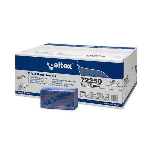 Papírové ručníky skládané Celtex MULTI BLUE, 3060ks