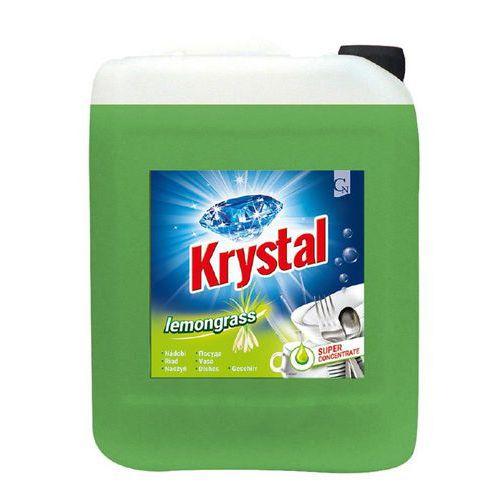 Krystal na nádobí 5l zelený