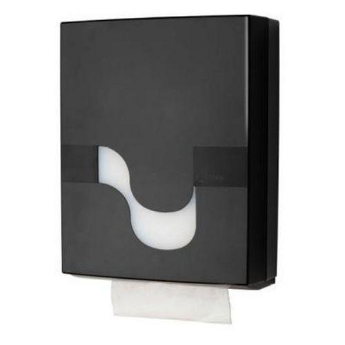 Zásobník na skládané papírové ručníky Celtex černý