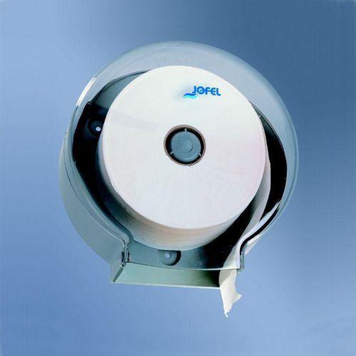 Zásobník toaletního papíru JOFEL Midi šedý plast
