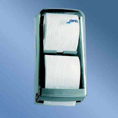 Zásobník toaletního papíru JOFEL pro konvenční role plast, kouřový