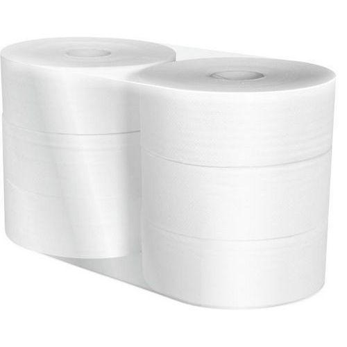 Toaletní papír Midi Jumbo role 23cm 2vrstvy bílý, 6ks