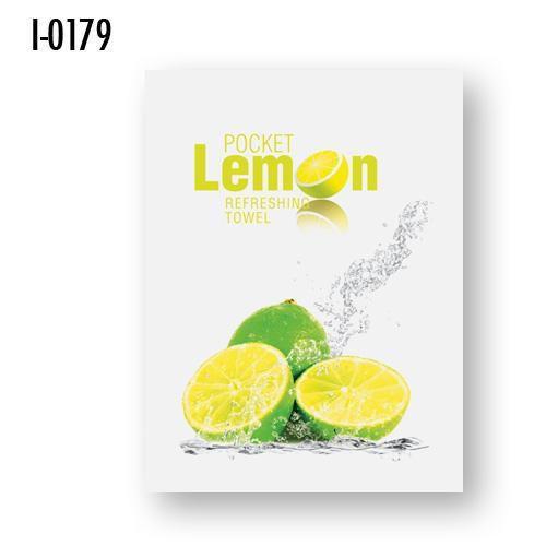 Vlhčené osvěžující ubrousky Infibra Lemon, 500ks