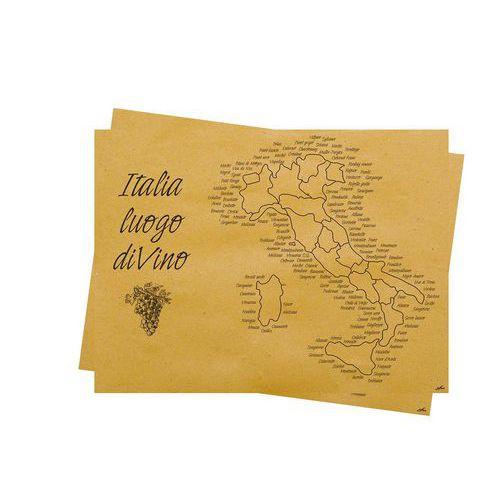 Jednorázové papírové prostírání Infibra Natur ITALIA 30x40cm, 500ks