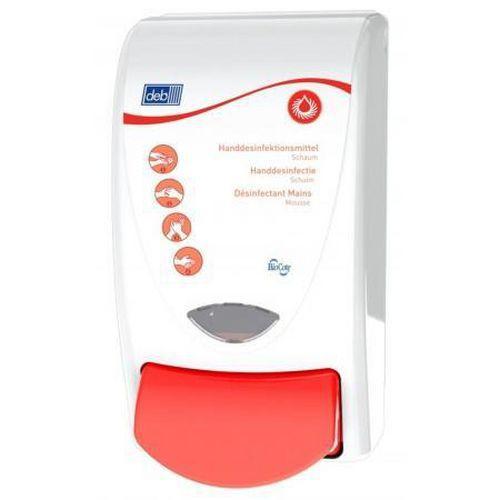 Dávkovač DEB Global Sanitise 1l červený, dezinfekce