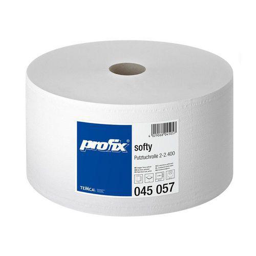 Průmyslová role velká TEMCA Profix Softy 2400 bílá