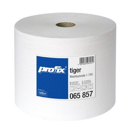 Průmyslová role TEMCA Profix tiger 750 bílá