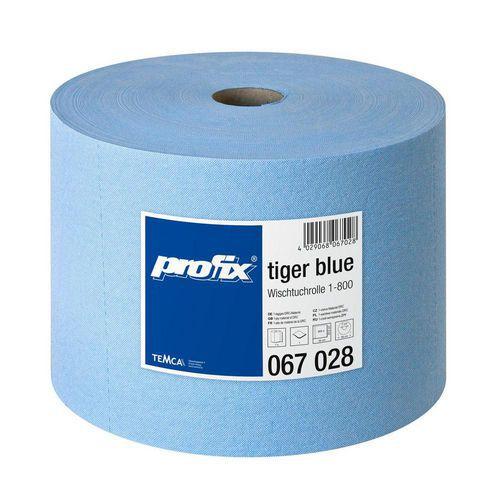 Průmyslová role TEMCA Profix tiger 800 modro-bílá