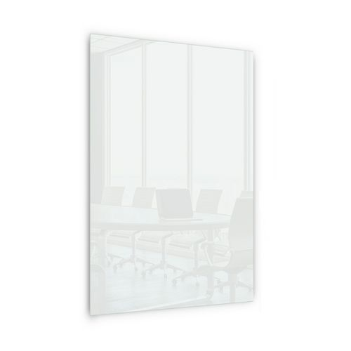 Skleněná magnetická tabule Memoboard, bílá, 200 x 100 cm
