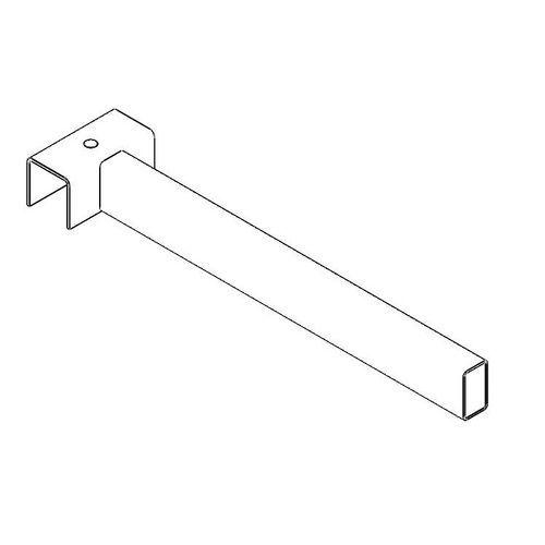 Dělič pro vertikální regály Epsivol, střední díl, hloubka 35 cm