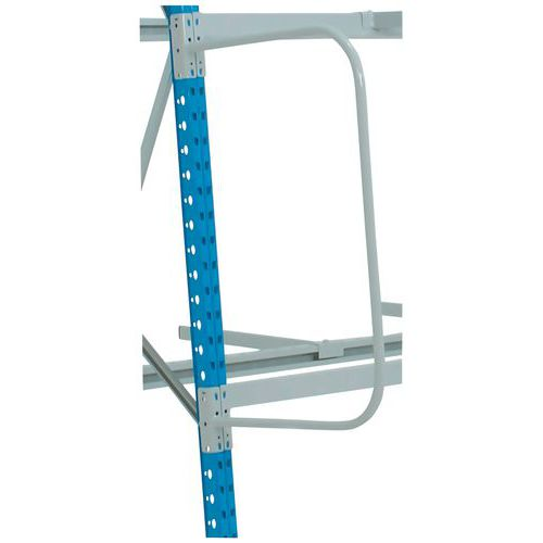 Obloukový dělič pro vertikální regál Epsivol, hloubka 50 cm, levé provedení