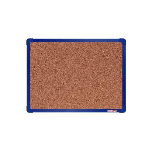 Korková tabule boardOK, 60 x 45 cm, modrá