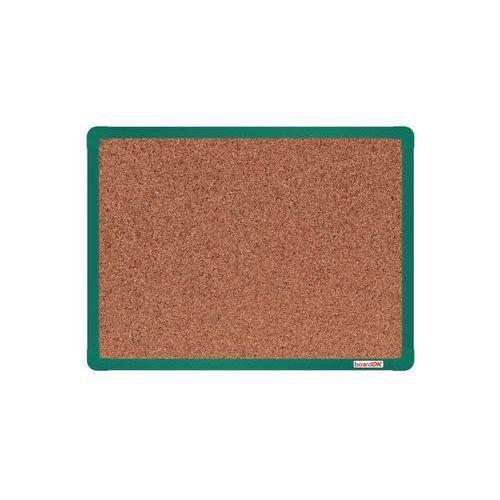 Korková tabule boardOK, 60 x 45 cm, zelená