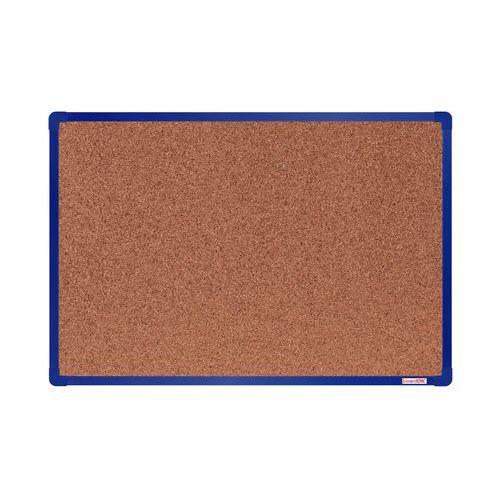 Korková tabule boardOK, 90 x 60 cm, modrá