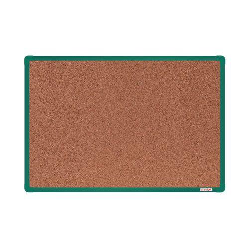 Korková tabule boardOK, 90 x 60 cm, zelená