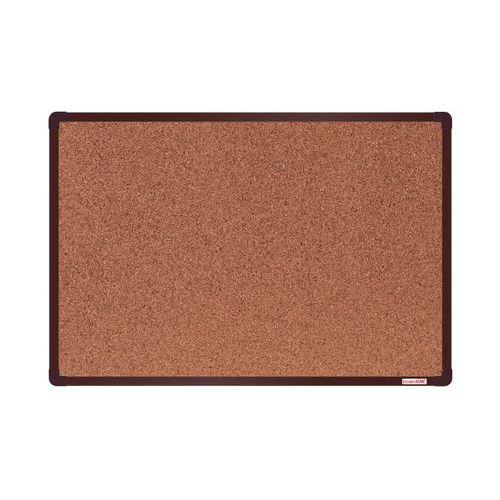 Korková tabule boardOK 90 x 60 cm, hnědá