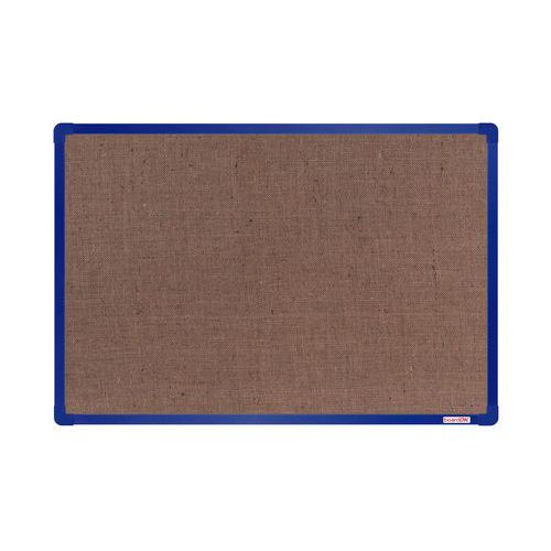 Textilní tabule boardOK 90 x 60 cm, modrá