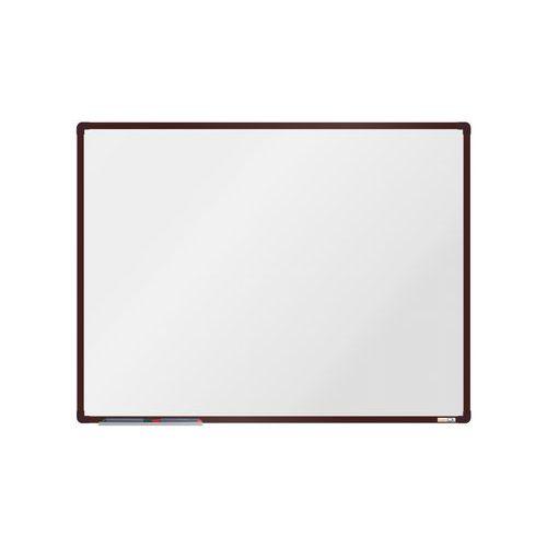 Keramická tabule boardOK 120 x 90 cm, hnědá