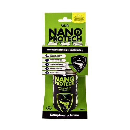 Čisticí mazací a konzervační roztok NANOPROTECH Gun 150 ml