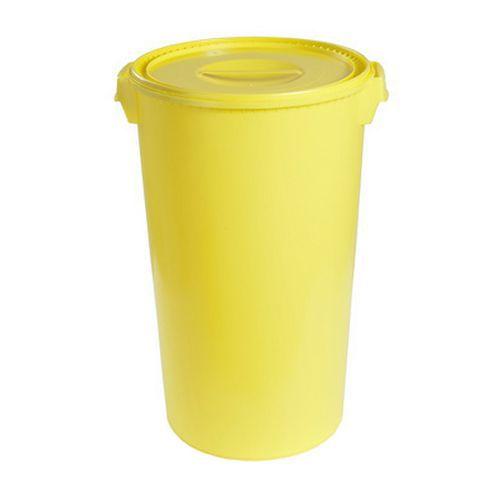 Plastová nádoba na zdravotnický odpad, objem 60 l - Prodloužená záruka na 10 let