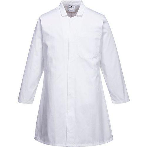 Pánský potravinářský plášť, bílá