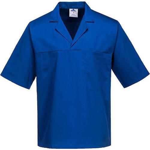 Košile pekařská, světle modrá