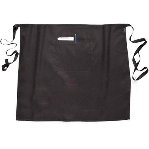 Pasová zástěra 120 cm, černá