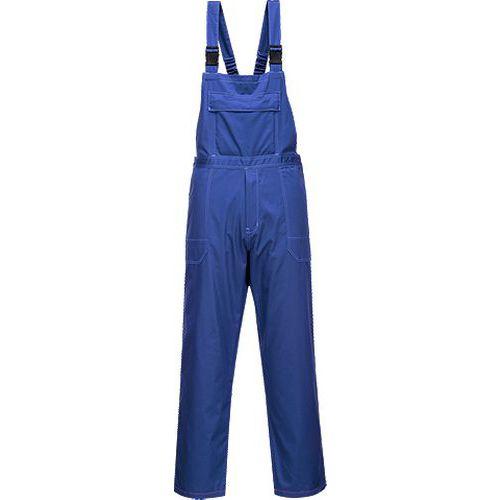 Laclové kalhoty chemicky odolné, modrá