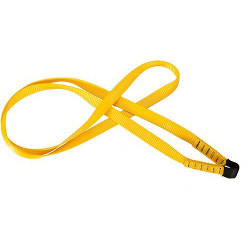 Kotevní závěs s popruhy, žlutá
