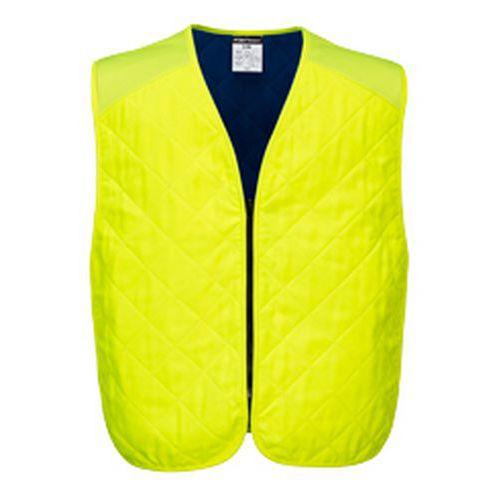 Chladicí odpařovací vesta, žlutá