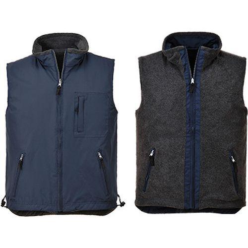 RS oboustranná vesta, modrá