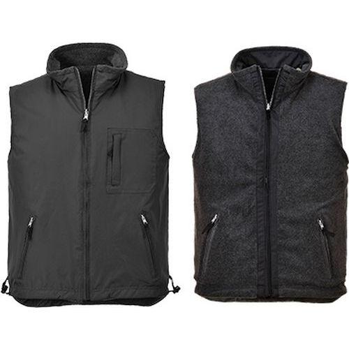 RS oboustranná vesta, černá