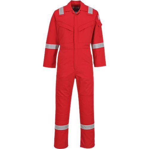 Kombinéza Flame Resistant Anti-Static 350g, červená, normální, v
