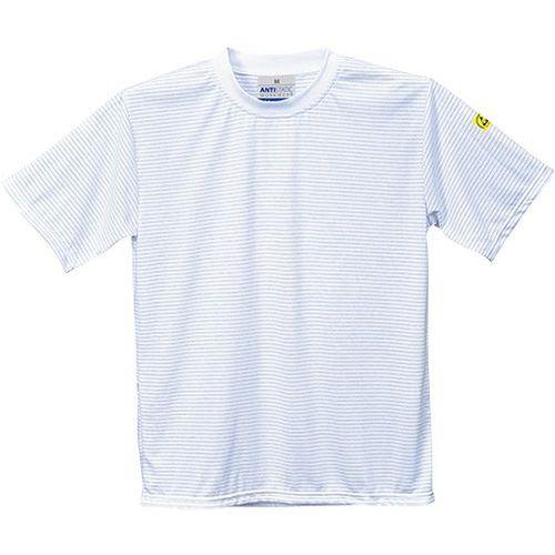 ESD antistatické triko, bílá