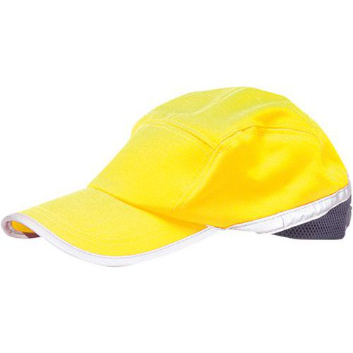 Hi-Vis kšiltovka, modrá/žlutá