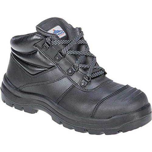 Bezpečnostní obuv Trent S3 HRO CI HI FO, černá, vel. 48